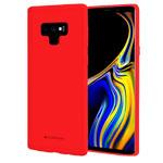 Чехол Mercury Goospery Soft Feeling для Samsung Galaxy Note 9 (красный, силиконовый)
