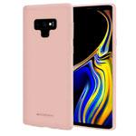 Чехол Mercury Goospery Soft Feeling для Samsung Galaxy Note 9 (бежевый, силиконовый)