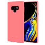 Чехол Mercury Goospery Soft Feeling для Samsung Galaxy Note 9 (розовый, силиконовый)