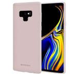 Чехол Mercury Goospery Soft Feeling для Samsung Galaxy Note 9 (серый, силиконовый)