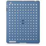 Чехол X-doria Smart Jacket Form case для Apple iPad 2/New iPad (голубой, кожанный)