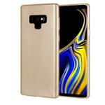 Чехол Mercury Goospery i-Jelly Case для Samsung Galaxy Note 9 (золотистый, гелевый)