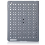 Чехол X-doria Smart Jacket Form case для Apple iPad 2/New iPad (серый, кожанный)