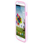 Чехол X-doria Bump Case для Samsung Galaxy S4 i9500 (розовый, пластиковый)