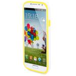 Чехол X-doria Bump Case для Samsung Galaxy S4 i9500 (желтый, пластиковый)