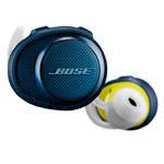 Наушники Bose SoundSport Free универсальные (беспроводные, синие/зеленые, микрофон)