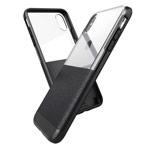 Чехол X-doria Dash case для Apple iPhone XS max (черный, кожаный)