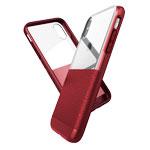 Чехол X-doria Dash case для Apple iPhone XS (красный, кожаный)