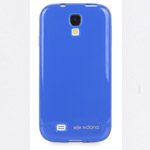 Чехол X-doria GelJacket Shine для Samsung Galaxy S4 i9500 (голубой, гелевый)