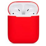 Чехол Synapse Protection Case для Apple AirPods (красный, силиконовый)