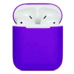 Чехол Synapse Protection Case для Apple AirPods (фиолетовый, силиконовый)
