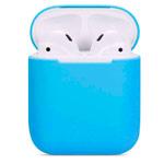 Чехол Synapse Protection Case для Apple AirPods (голубой, силиконовый)