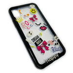Чехол Synapse Glassy Case для Apple iPhone X (Roccoco, гелевый/стеклянный)