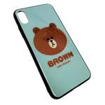 Чехол Synapse Glassy Case для Apple iPhone XS (Brown, гелевый/стеклянный)