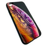 Чехол Synapse Glassy Case для Apple iPhone XR (Bubble Two, гелевый/стеклянный)