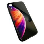 Чехол Synapse Glassy Case для Apple iPhone XR (Bubble Three, гелевый/стеклянный)