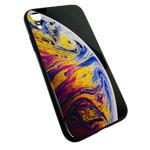 Чехол Synapse Glassy Case для Apple iPhone XR (Bubble Four, гелевый/стеклянный)