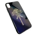 Чехол Synapse Glassy Case для Apple iPhone XS max (Elephant, гелевый/стеклянный)