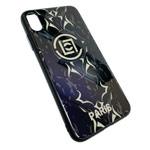 Чехол Synapse Glassy Case для Apple iPhone XS max (Paris, гелевый/стеклянный)