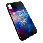 Чехол Synapse Glassy Case для Apple iPhone XS max (Paris Tiger, гелевый/стеклянный)