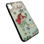 Чехол Synapse Glassy Case для Apple iPhone XS max (Ariel, гелевый/стеклянный)