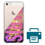 Печать на чехле для Apple iPhone SE (прозрачный, гелевый)