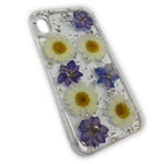 Чехол Yotrix FlowersFoil Case для Apple iPhone XS max (Chamomile, гелевый)