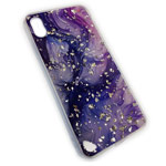 Чехол Yotrix GlitterFoil Case для Apple iPhone XS max (Galaxy Two, гелевый)