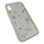 Чехол Yotrix GlitterFoil Case для Apple iPhone XS max (Stars, гелевый)
