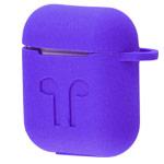 Чехол Yotrix AirPods Kit для Apple AirPods (фиолетовый, силиконовый, набор)