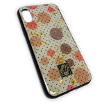 Чехол Yotrix GlitterFoil Case для Apple iPhone XS max (Rounds, гелевый)