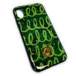 Чехол Yotrix GlitterFoil Case для Apple iPhone XS (Glee, гелевый)