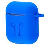 Чехол Yotrix AirPods Kit для Apple AirPods (синий, силиконовый, набор)