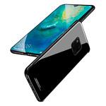 Чехол Yotrix GlassCase для Huawei Mate 20 pro (черный, гелевый/стеклянный)
