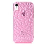 Чехол Yotrix DiamondCase для Apple iPhone XR (розовый, гелевый)