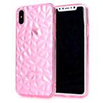 Чехол Yotrix DiamondCase для Apple iPhone XS (розовый, гелевый)