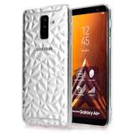 Чехол Yotrix DiamondCase для Samsung Galaxy A6 plus 2018 (прозрачный, гелевый)