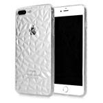 Чехол Yotrix DiamondCase для Apple iPhone 8 plus (прозрачный, гелевый)