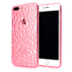 Чехол Yotrix DiamondCase для Apple iPhone 8 plus (розовый, гелевый)