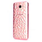 Чехол Yotrix DiamondCase для Samsung Galaxy A8 2018 (розовый, гелевый)