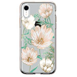 Чехол Comma Crystal Flowers для Apple iPhone XR (Magnolia White, гелевый)