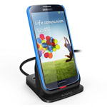 Dock-станция KiDiGi Ultrathin Desktop Charging Dock для Samsung Galaxy S4 i9500 (черная)