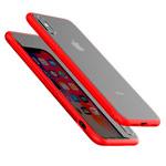 Чехол Devia Yosung Case для Apple iPhone XS (красный, гелевый/стеклянный)