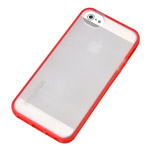 Чехол Discovery Buy Rainbow Bridge Protective Case для Apple iPhone 5 (красный, пластиковый)