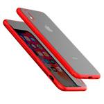 Чехол Devia Yosung Case для Apple iPhone XR (красный, гелевый/стеклянный)