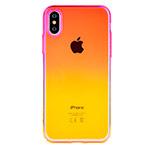 Чехол Devia Aurora case для Apple iPhone XS max (оранжевый, пластиковый)