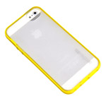 Чехол Discovery Buy Rainbow Bridge Protective Case для Apple iPhone 5 (желтый, пластиковый)