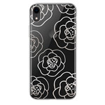 Чехол Devia Crystal Camellia для Apple iPhone XR (серебристый, пластиковый)