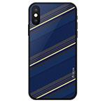 Чехол Devia Reno Case для Apple iPhone XS (синий, гелевый)