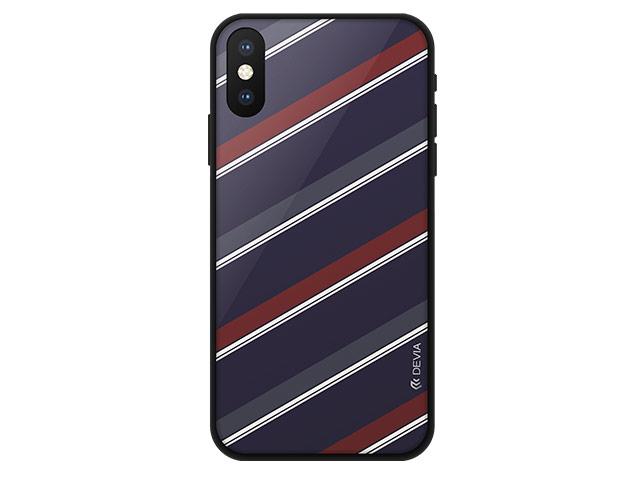 Чехол Devia Reno Case для Apple iPhone XS max (красный, гелевый)
